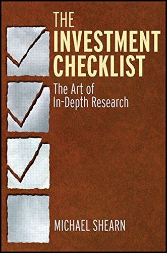 The Investment Checklist: The Art of In-Depth Research