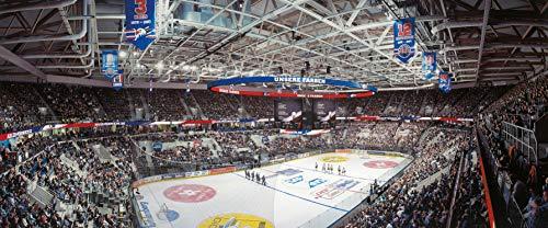 Mannheim Eishockey Arena Panorama - Poster 120 x 50 cm - hochwertiger FineArtPrint