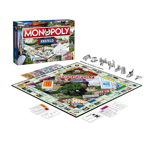 Monopoly Krefeld - das weltberühmte Spiel um Grundbesitz und Immobilien